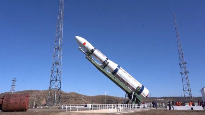 Первый в мире испытательный спутник g запущен из джина