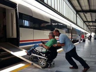 Tasuta rongipilet puudega kodanikele puuetega konföderatsioonidest