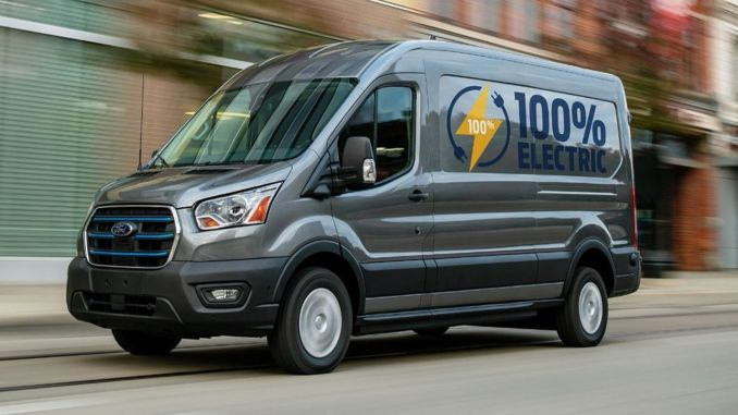 Ford's first fully electric commercial vehicle will be produced in transit Kocaeli