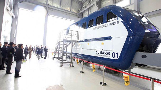 A Test Train Reaches 1000 Km Per Hour In South Korea