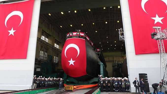 havelsan completed the heart of new types of submarines