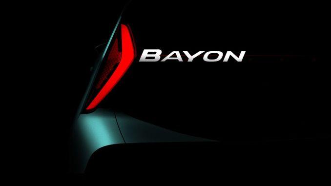 hyundai producirá un nuevo modelo de suv nombre bayon