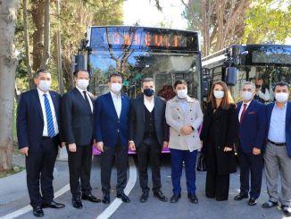 توقيع اتفاقية التحويل بين شركة IET والحافلات العامة الخاصة
