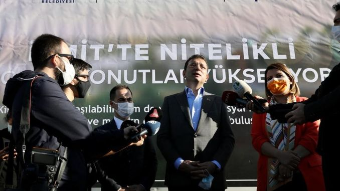 imamoglu canal istanbul is a project that has come to an end