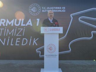 Intercity Istanbul Park Formel Track Asphaltarbeiten abgeschlossen
