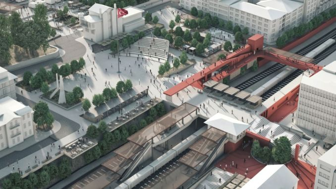 The winners of the istanbul square design competitions are announced