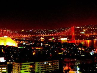 first bridge attempt and istanbul bridge in istanbul