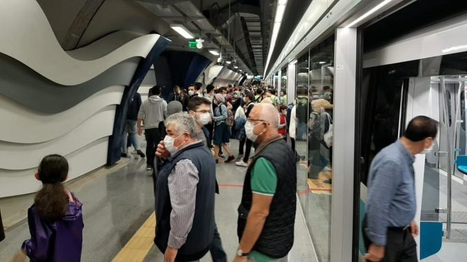 Istanbul residents loved mecidiyekoy mahmutbey metro