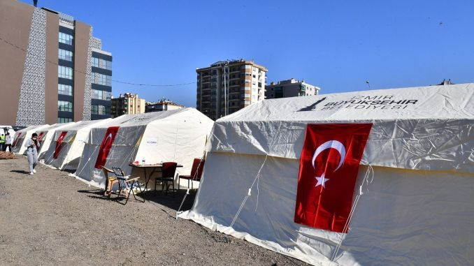 Moving and rent aid started to earthquake victims in Izmir