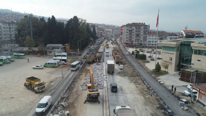 The caramel cross junction will relieve urban traffic