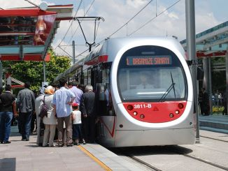 Paper ticket statement from Kayseri transportation as