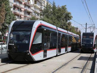 De lengte van de spoorlijnen in Kayseri zal kilometers bedragen