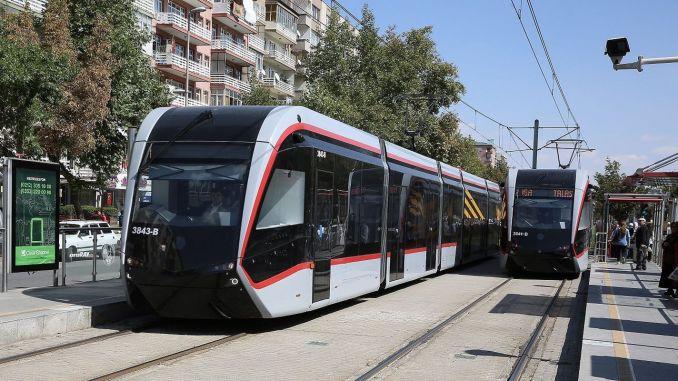 Lungimea liniilor sistemului feroviar din Kayseri va ajunge la kilometri