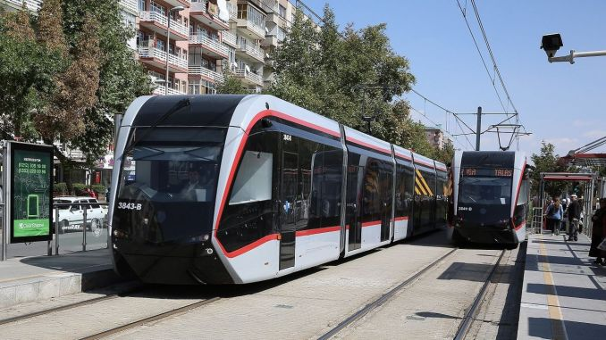 Протяженность железнодорожных линий в Кайсери достигнет километров.