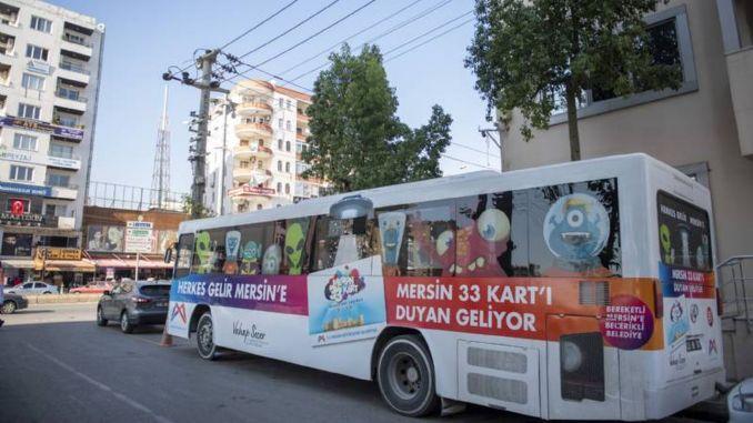 Mobilny pojazd serwisowy Kentkart służy mieszkańcom mezitu do listopada