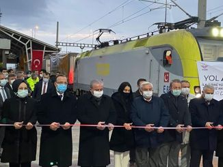 Medlog's first train to europe started from Tekirdag