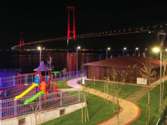 Osmangazi Bridge Scenic Beach Park Completed