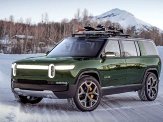 Pirelli produced tires for rivian, the world's first electric pick up vehicle