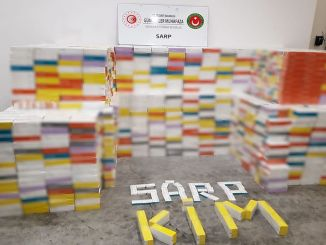 71 Thousand Pieces of E-Cigarette Tobacco Seized at Sarp Customs Gate