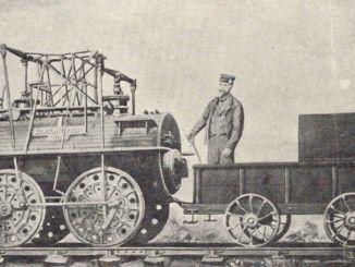 ¿Dónde se utilizó el tren por primera vez en el mundo?