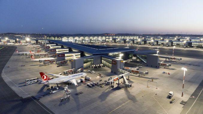 عالم الطيران في تركيا ، الميدان جاهز ليكون مركز عبور