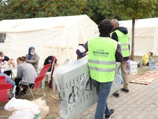 Помозите да се туркиенин са четири стране поново распореди на земљотрес