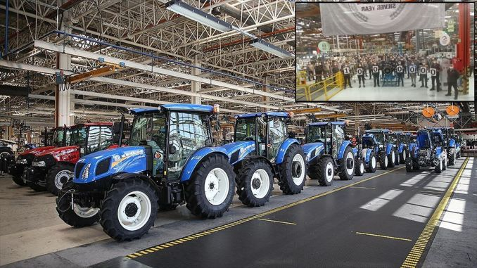 millionth tractor body from turktraktor