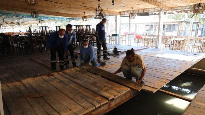 Fish Market Damaged in Tusunamide and Fisheries Bazaar Renewed