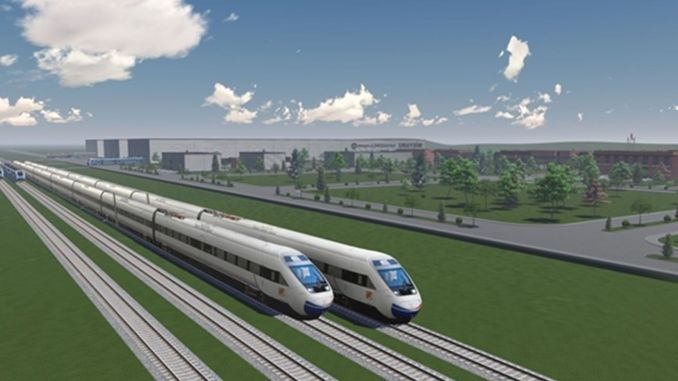 Uraysim rail systems test center project is the national case of Eskisehir