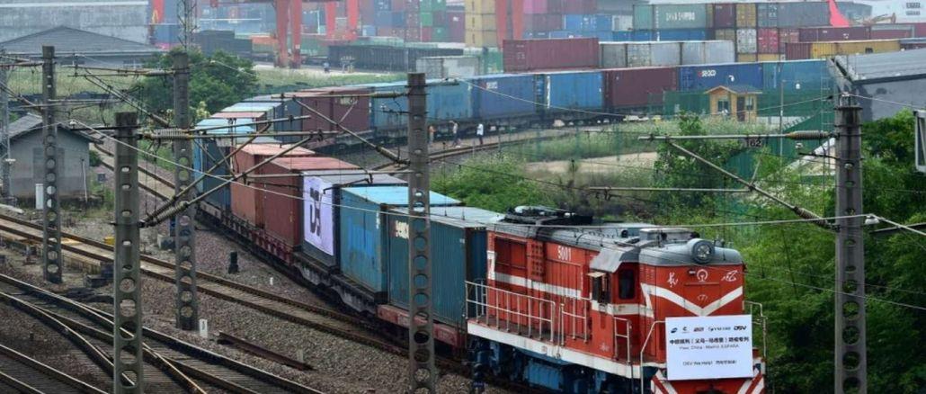 Die Zahl der Züge von Xinjiang nach Europa überstieg tausend