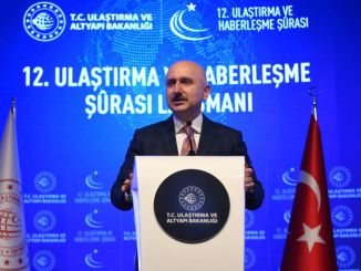 Transport and communication line launch was made in istanbul