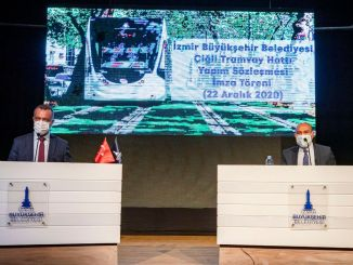 The contract for the construction of the kilometer high-speed tram was signed.