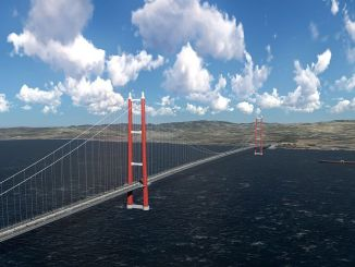 canakkale bridge may be opened before the target date