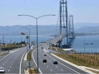 Kuinka paljon Yss: n ja Osmangazi Bridgesin kulkumaksu tulee maksamaan