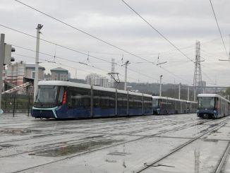alibeykoy cibali tramvay hatti ocakta hizmete giriyor