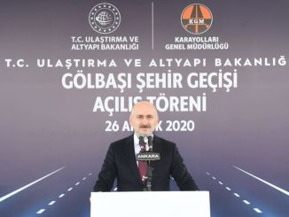 Ankara golbasi city night opened