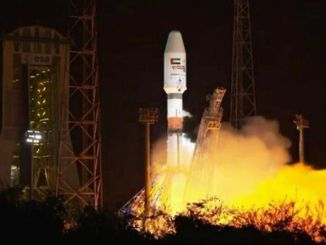 United Arab Emirates launched falcone satellite successfully