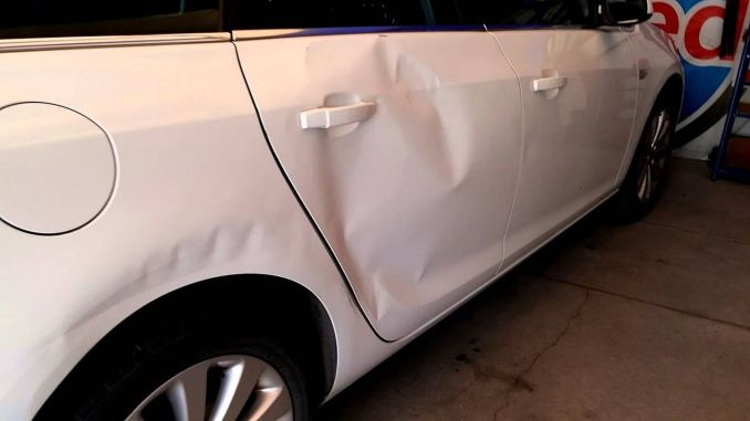 How to fix the paintless bodywork