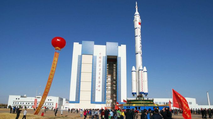 genie prepares to send four manned vehicles into space
