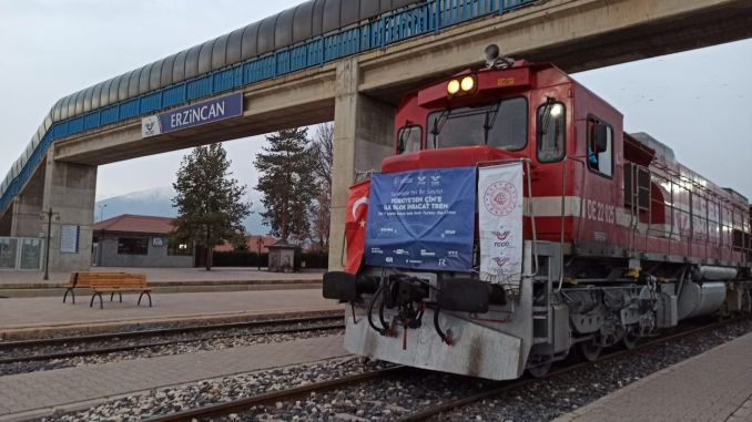 Export Train to China Arrives in Erzincan