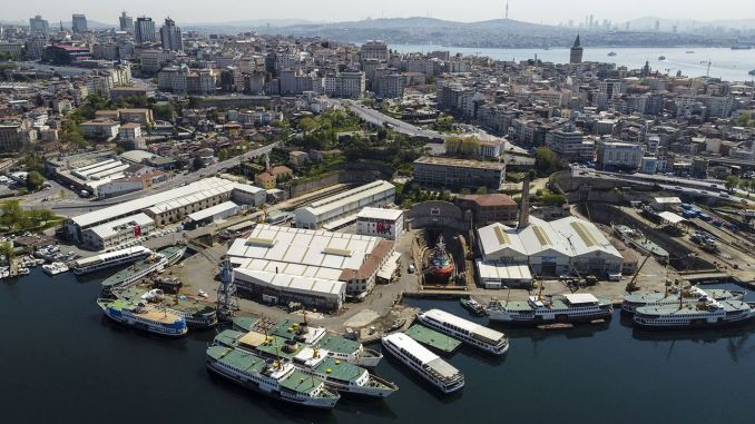 The oldest shipyard in the world, the oldest shipyard in the world.