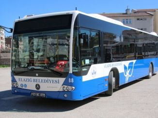 Restriction on bus timetable in elazig