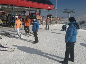تم فحص إجراءات Covid في مركز Erciyes للتزلج