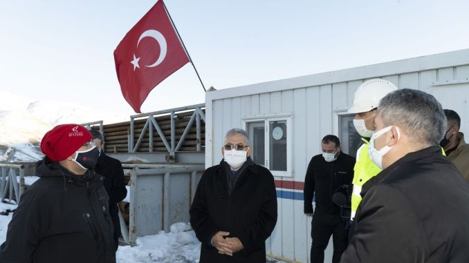 Erciyes will serve the season of the year together with thermal tourism
