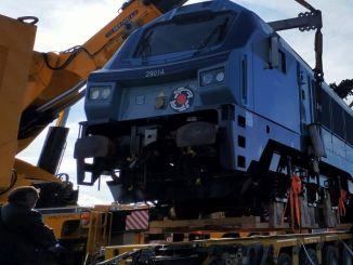 Locomotivele estoniene au pornit