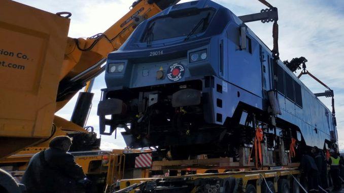 Estonian locomotives set off
