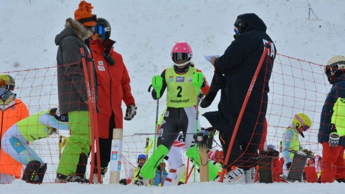 gold medal from fis alpine anatolian cup