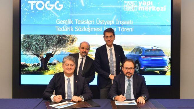 Gemlik Togg will build automobile factory construction center