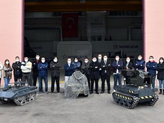 havelsan developed autonomous unmanned ground vehicle