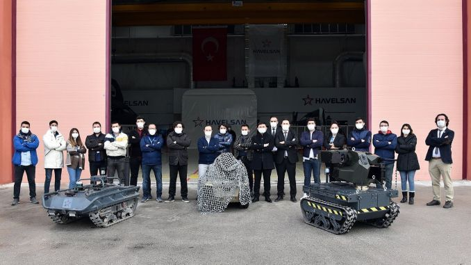 havelsan developed autonomous unmanned ground vehicle